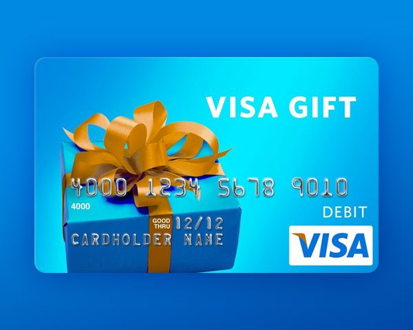 how to use visa gift card online